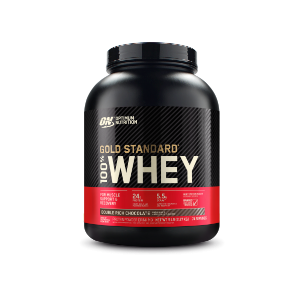 bote de proteinas Gold standard whey2kg